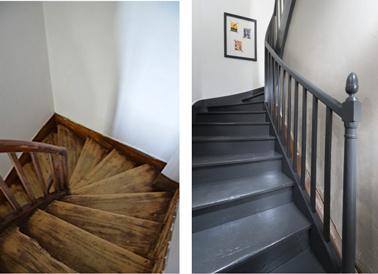 Comment repeindre facilement un escalier en bois ?